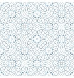 Blue Seamless Guilloche Background vector