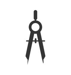 Compass architecture tool icon graphic vector