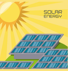 concept releated with solar power vector image