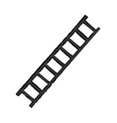 Construction ladder equipment vector image