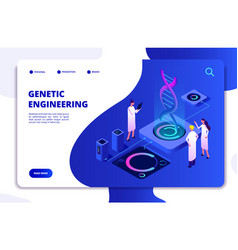Genetic concept dna nanotechnology biochemistry vector