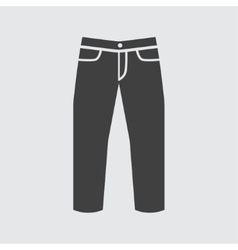 Jeans icon vector