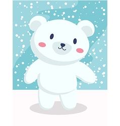 Polar Bear Cartoon vector