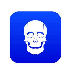 Singer mask icon digital blue vector