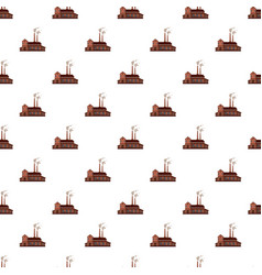factory building pattern vector image