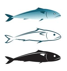 image of an mackerel design vector image vector image