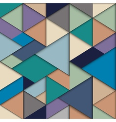 Origami background vector image
