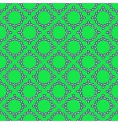 Polka dot and rhombus geometric seamless pattern vector image vector image