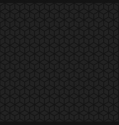 abstract background of lineart cubes vector image