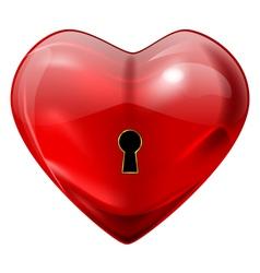 unlock my heart vector image