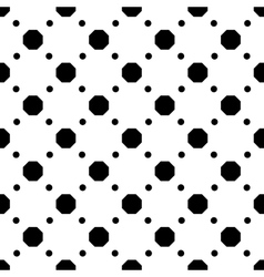 Polka dot geometric seamless pattern 3510 vector image vector image