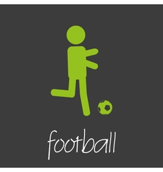 football sport commercial design banner and vector image