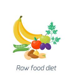 ripe yellow banana fruits juicy healthy vector image vector image