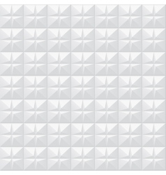 White texture Geometric pattern - seamless vector image