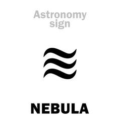 Astrology nebula stardust vector