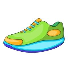 Athletic shoe icon cartoon style vector