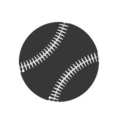 baseball ball sport isolated icon vector image