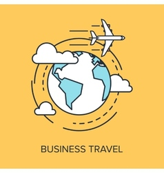 Business Travel vector