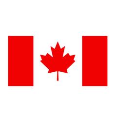 Canada flag canadian leaf maple icon vector
