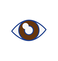 Eye icon image vector