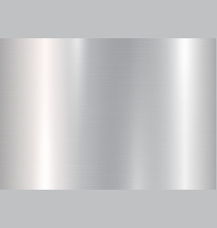 gradient of silvery metal vector image