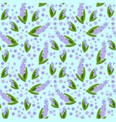 hyacinths vector image