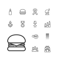 One icons vector