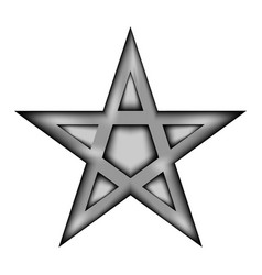 Pentagram icon sign vector