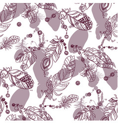 samless pattern with colored dark red graphic vector image
