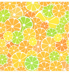seamless pattern background sliced halves vector image