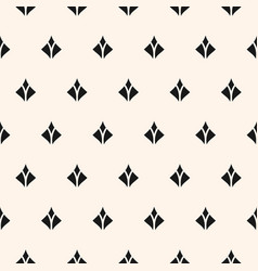 Seamless pattern with small diamond shapes vector