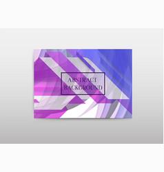 Set bright polygonal geometric backgrounds vector