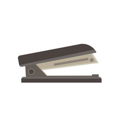 Stapler isolated icon office business clip design vector