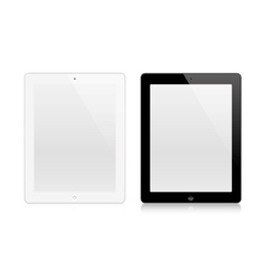 Tablets In New Ipade Style vector image