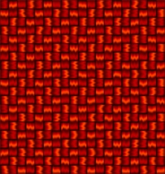 woven background vector image vector image
