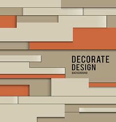 Abstract wallpaper Interior design background vector image vector image