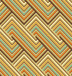 Colored lines pattern vector image vector image