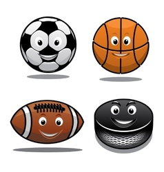 Set of sports equipment icons vector image vector image