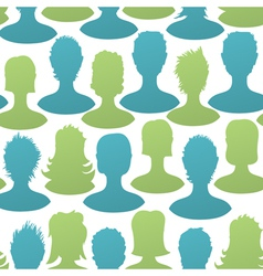 social seamless pattern vector image