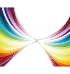 abstract rainbow pattern vector image