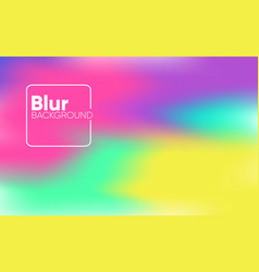 aesthetic blur background colorful vector image