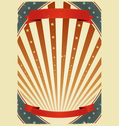 American fourth of july banners vector