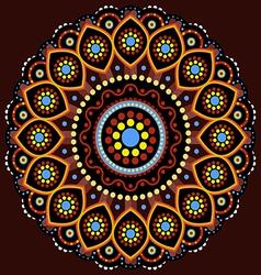 Australian Aboriginal Mandala vector