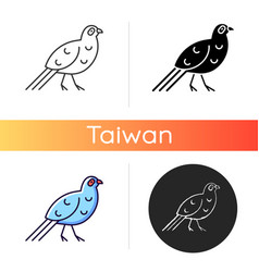 Bird icons vector