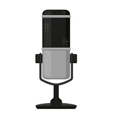 cartoon wireless mic vector image