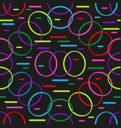 colorful seamless pattern of multi-colored vector image