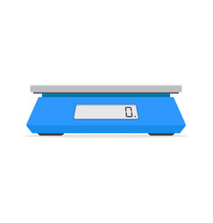 electronic scales for products vector image