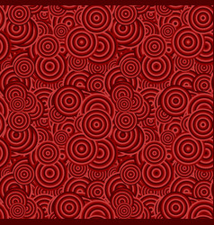 Geometrical seamless pattern - concentric circle vector