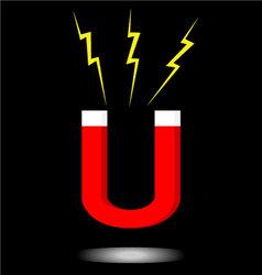 Magnet icon logo vector