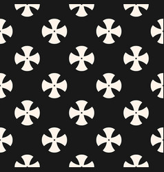 Simple floral pattern minimalist seamless texture vector